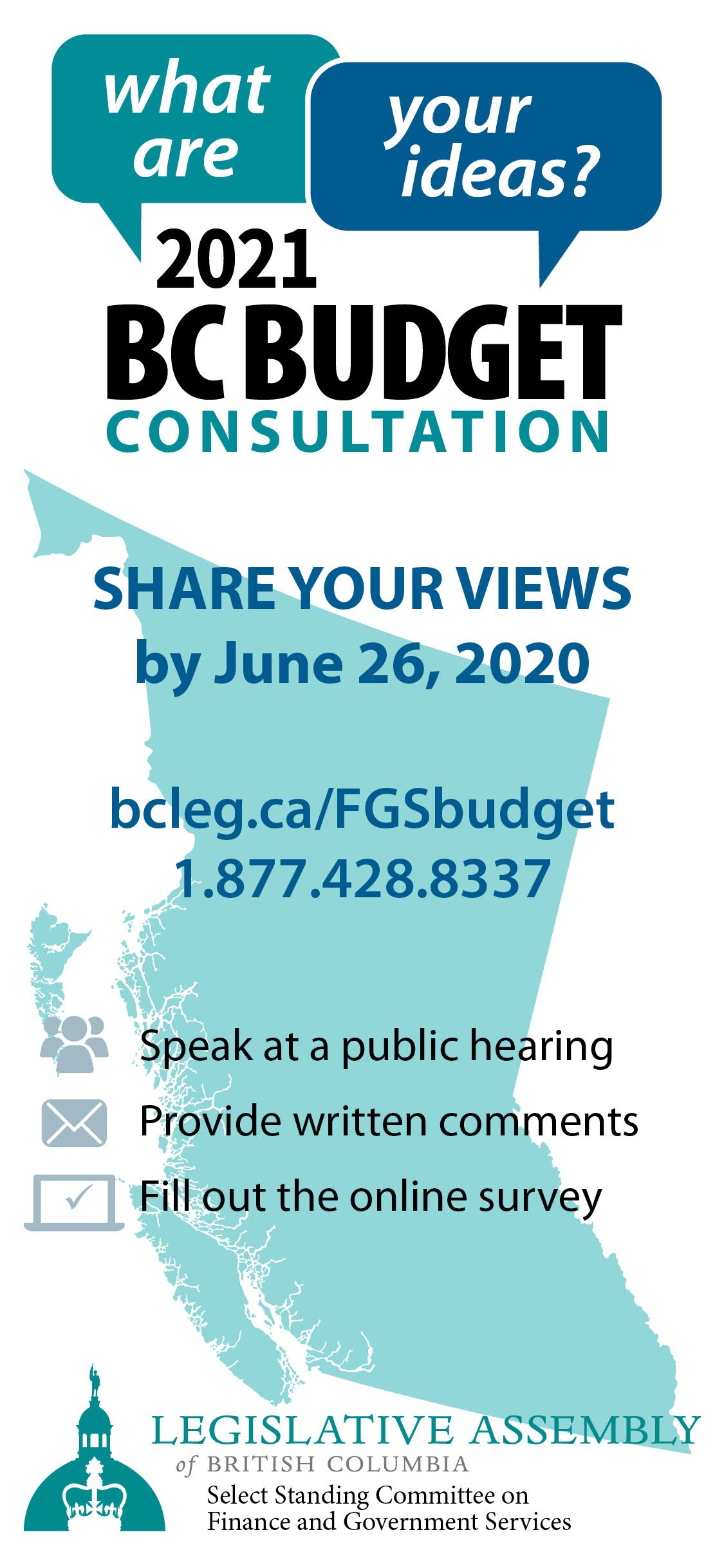 BC Budget 2021 Consultation